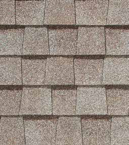 Mojave Tan shingle roof color swatch