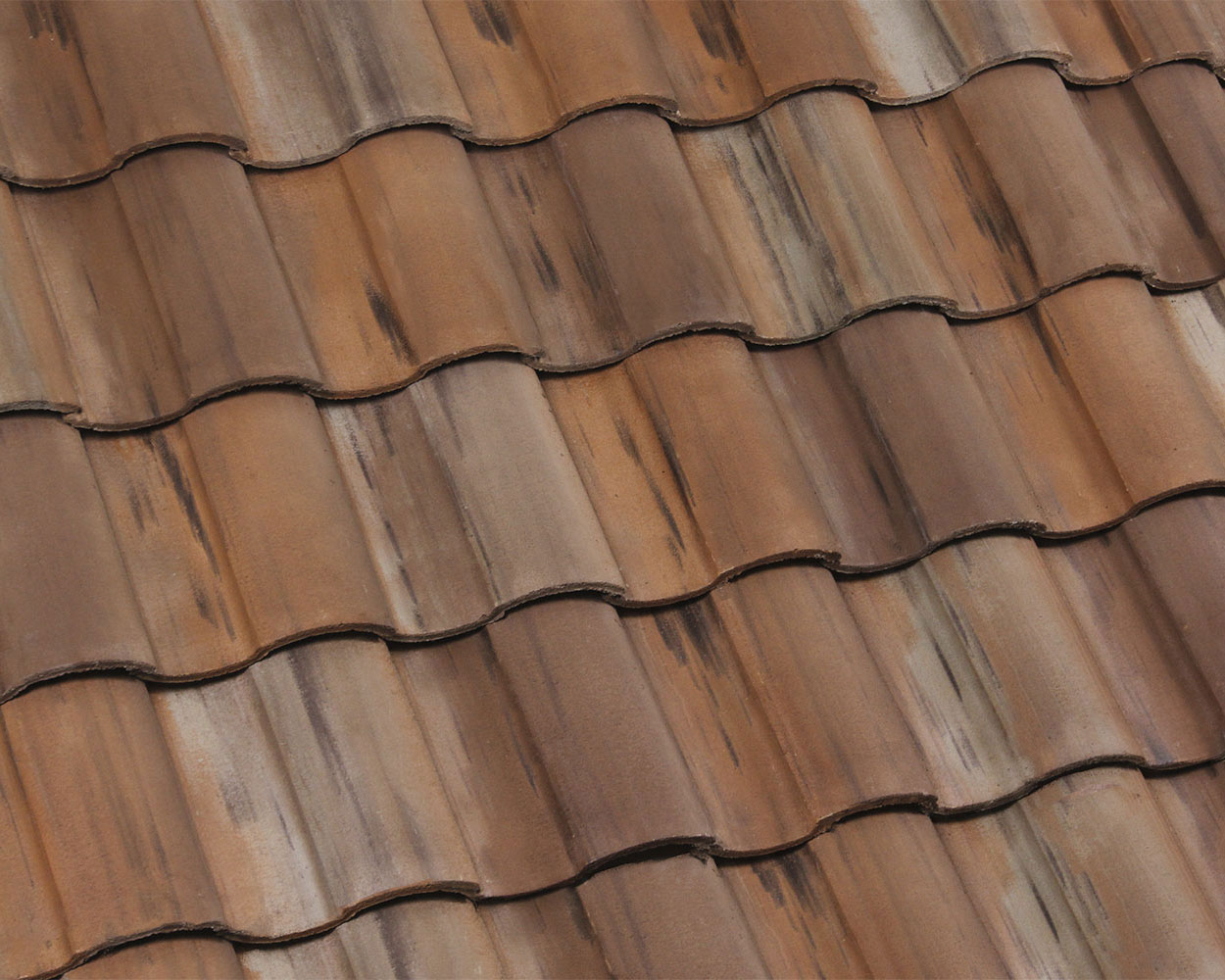 Northdale blend tile roof color swatch