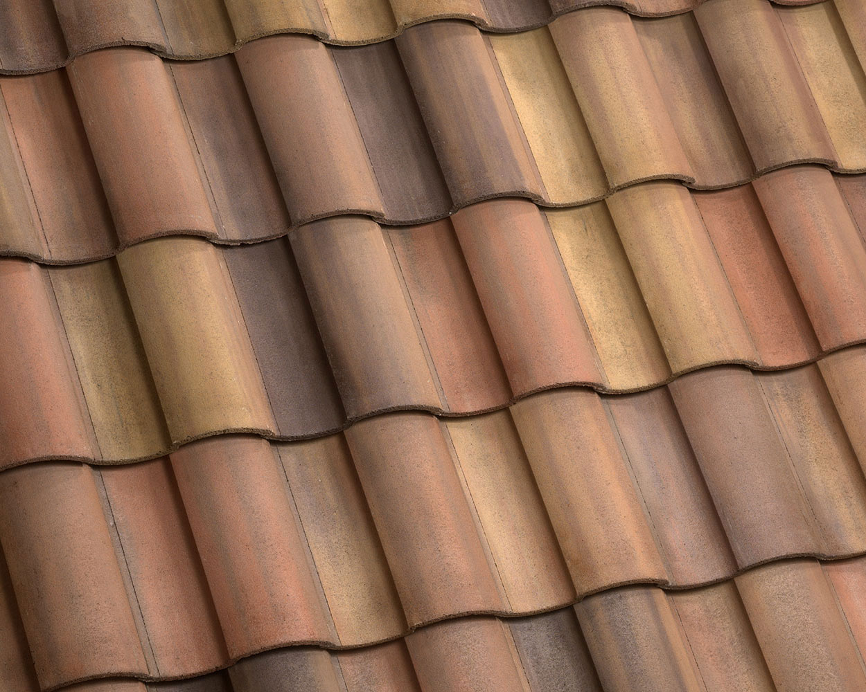 Palm beach blend tile roof color swatch