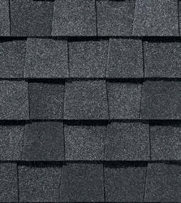 Pewter shingle roof color swatch