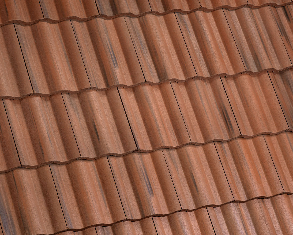 Rosewood tile roof color swatch