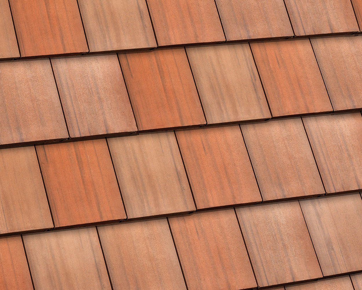 Sanborn blend tile roof color swatch