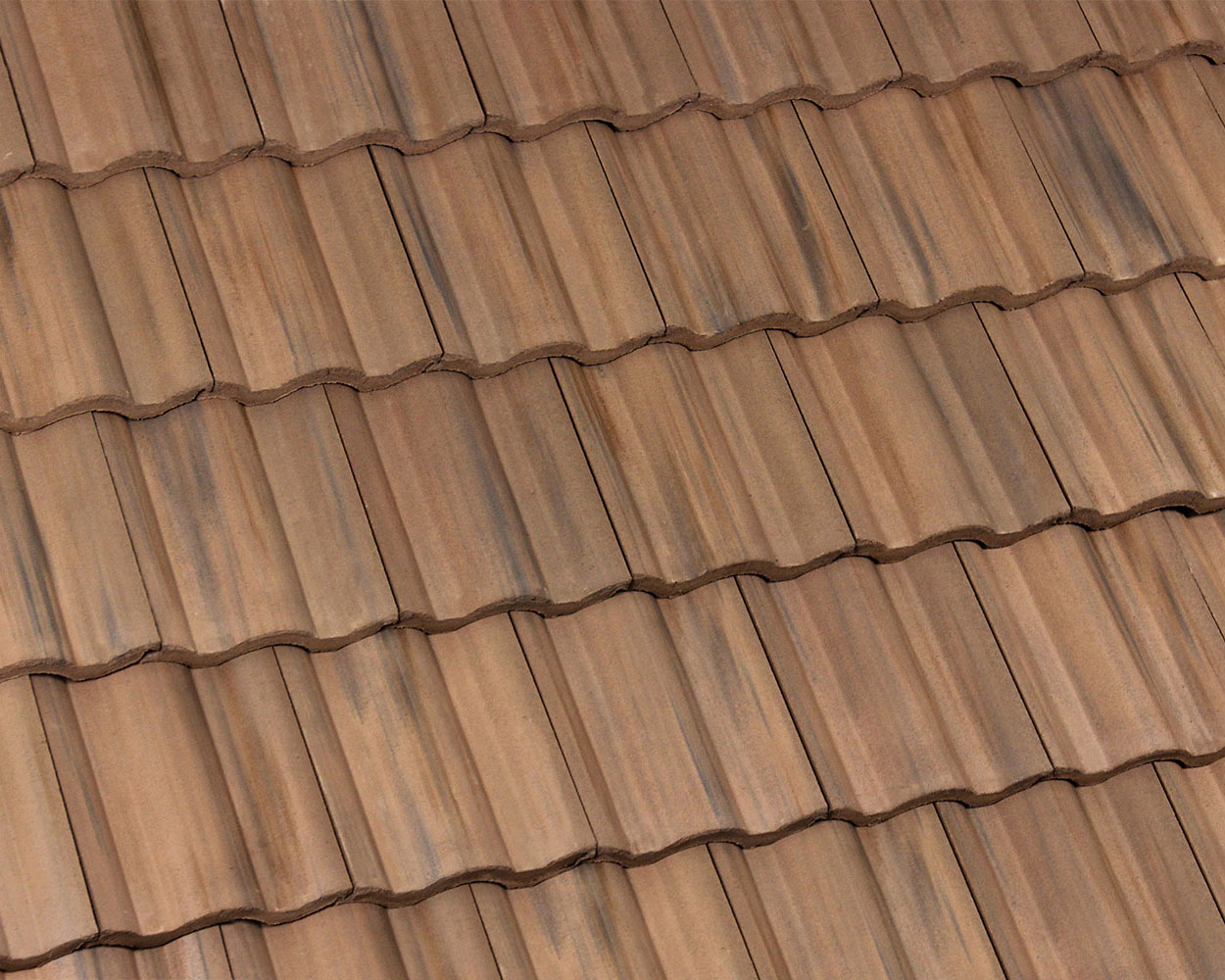 Sandy blend tile roof color swatch