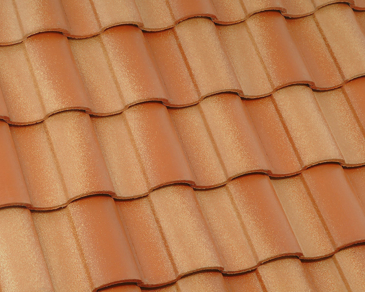 Terracotta Gold tile roof color swatch