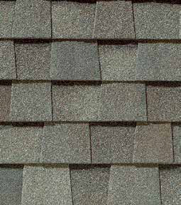 Weathered Wood shingle roof color swatch