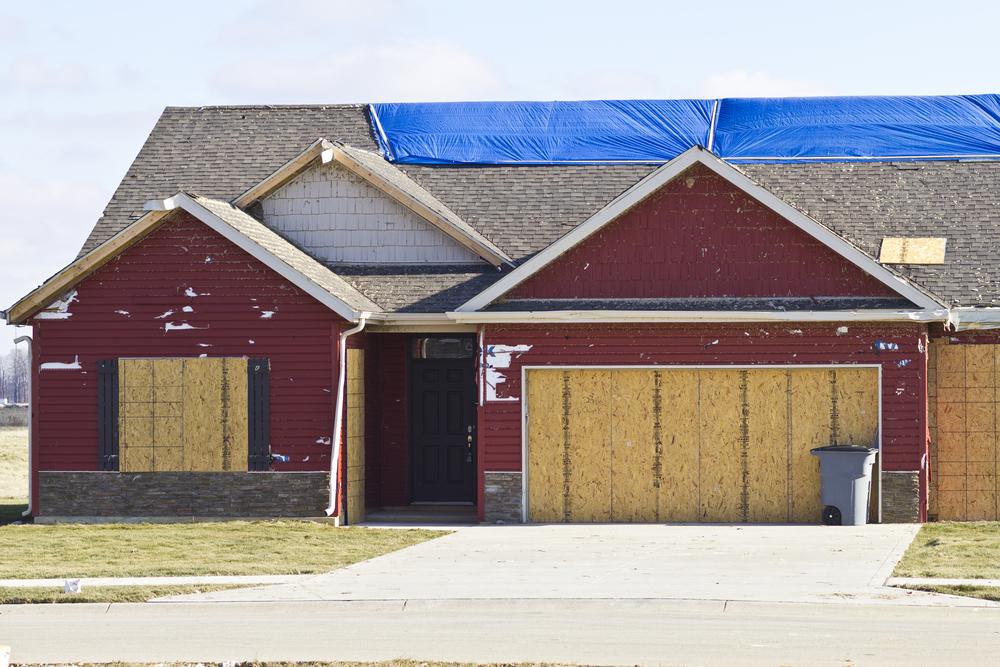 Home weathered through hurricane