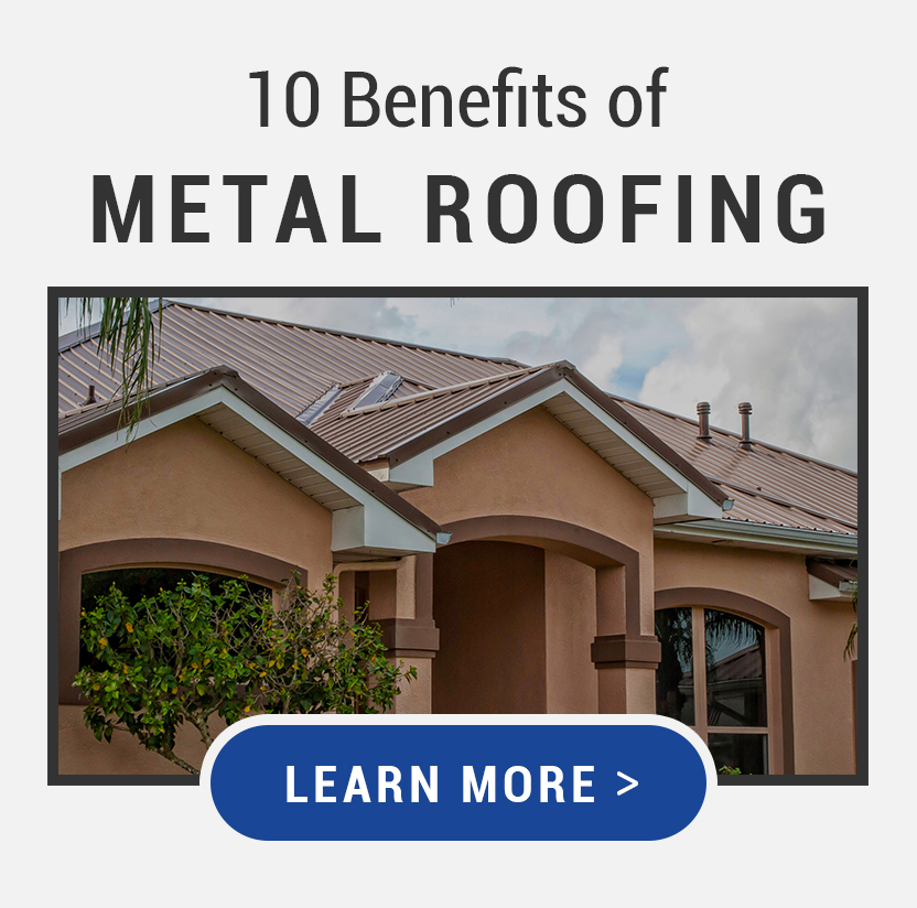 10 benefits of metal roofing