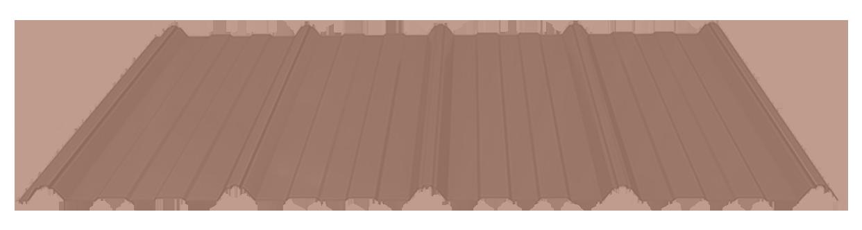 Copper metal roof sheet