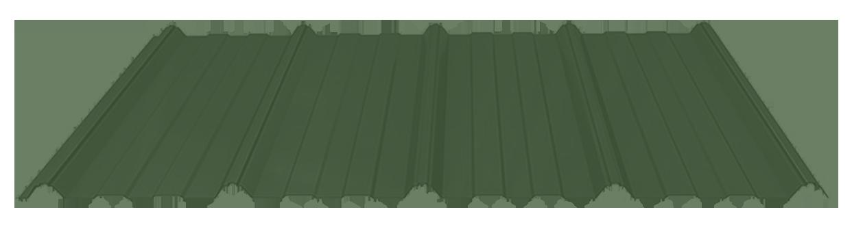 Evergreen metal roof sheet
