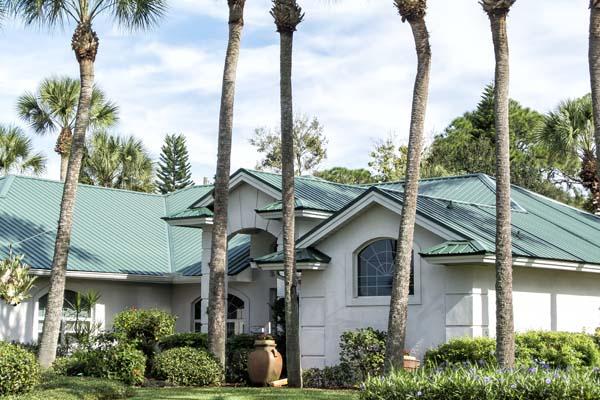 Florida metal roof