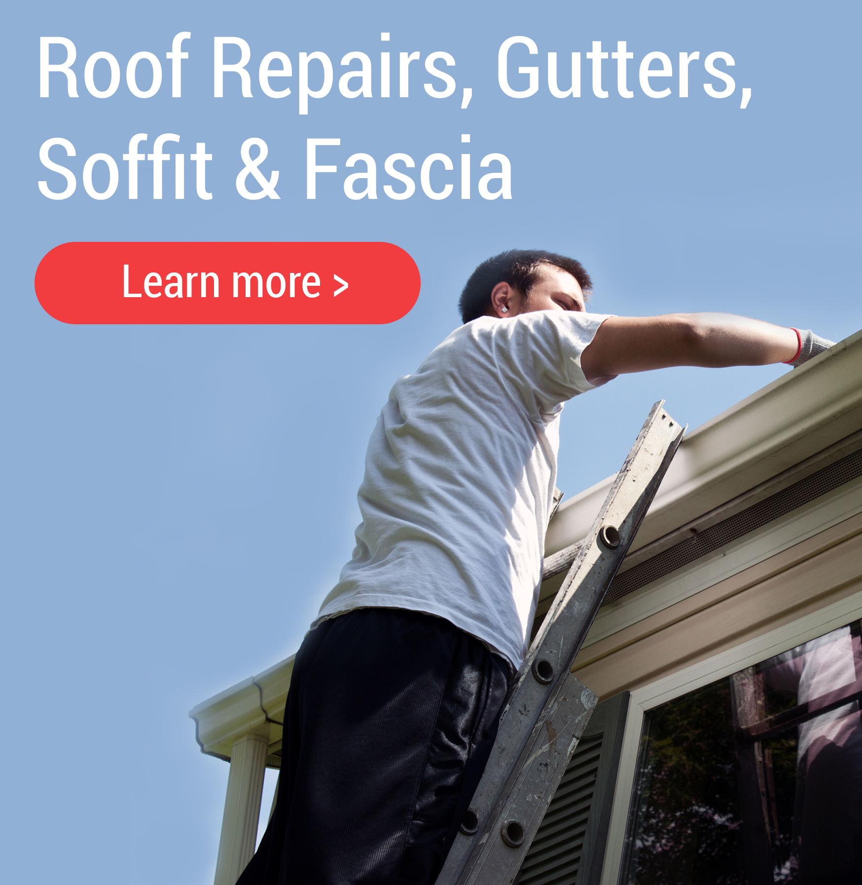 Gutters and soffit services