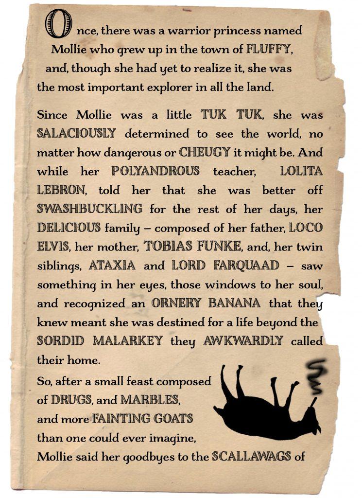 Mollie Woods: Warrior Princess and Master Adventurer