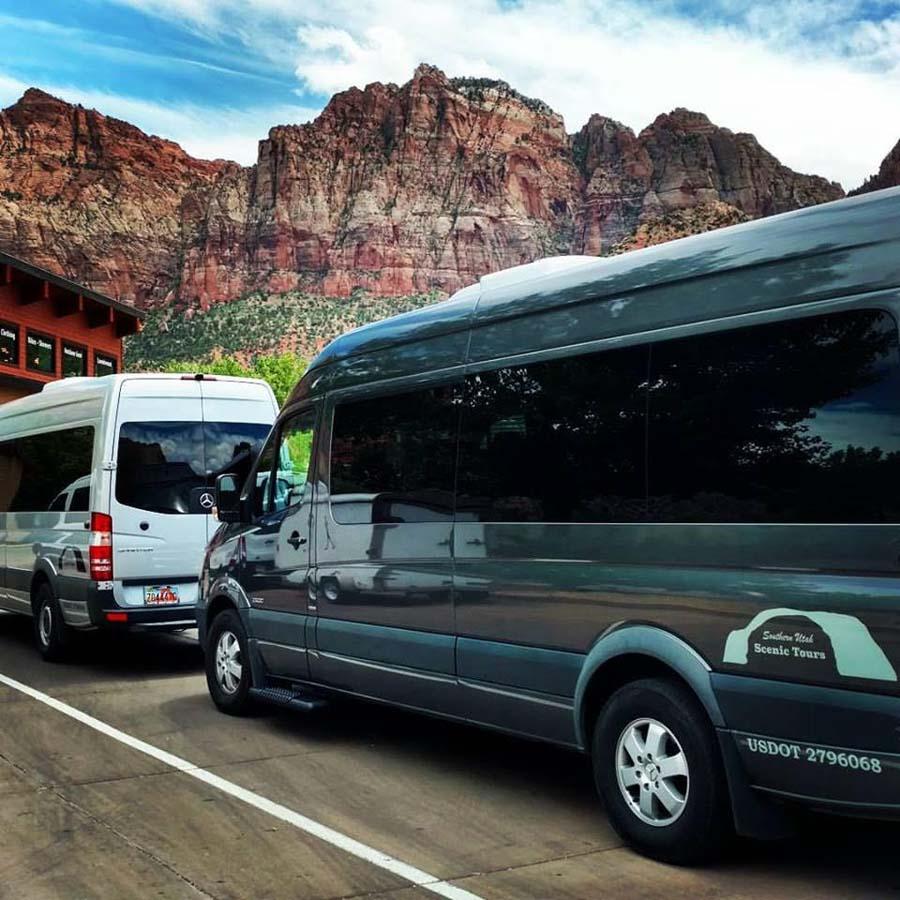 So Utah Tours Van