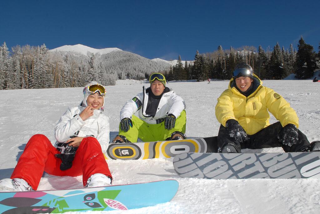 Snowboarders Cherri Lamont 1