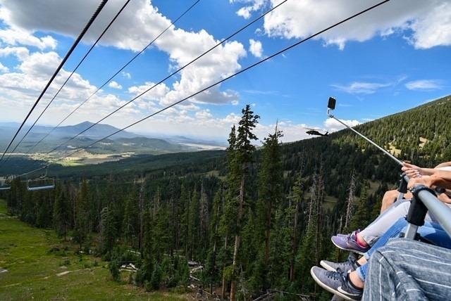 Snowbowl Scenic Chairlift July 2020 Cherri Lamont 1