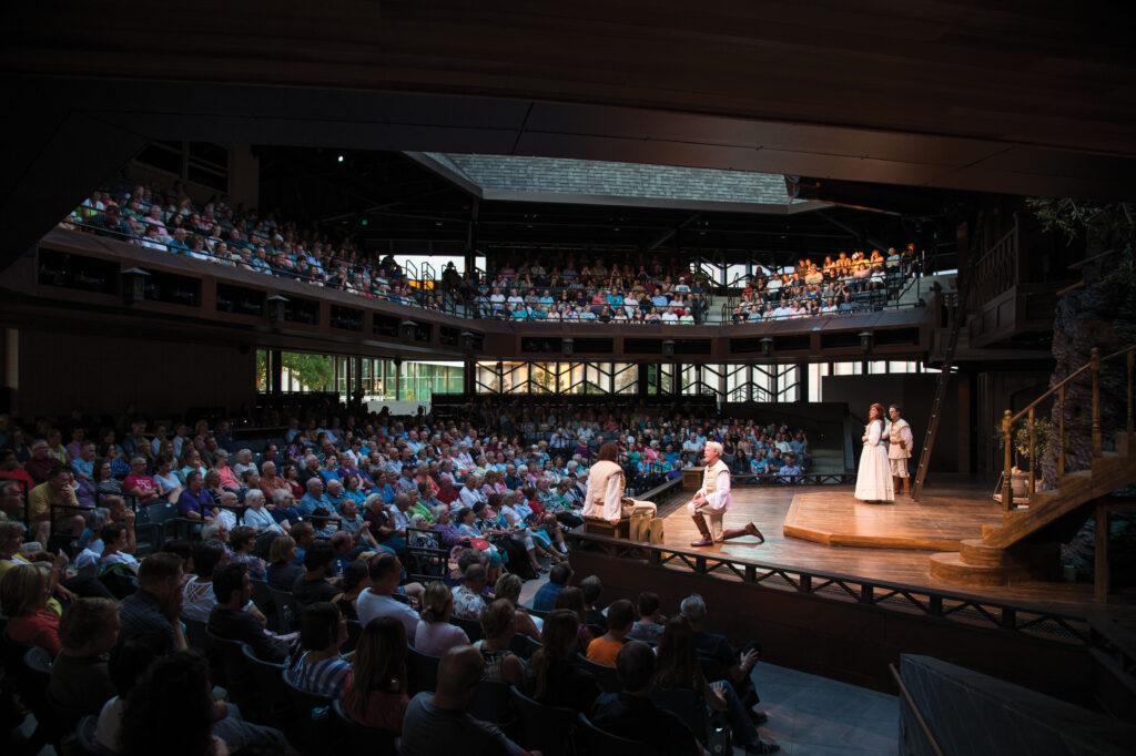Utah Shakespeare Festival Engelstad performance Karl Hugh Maria Twitchell 1