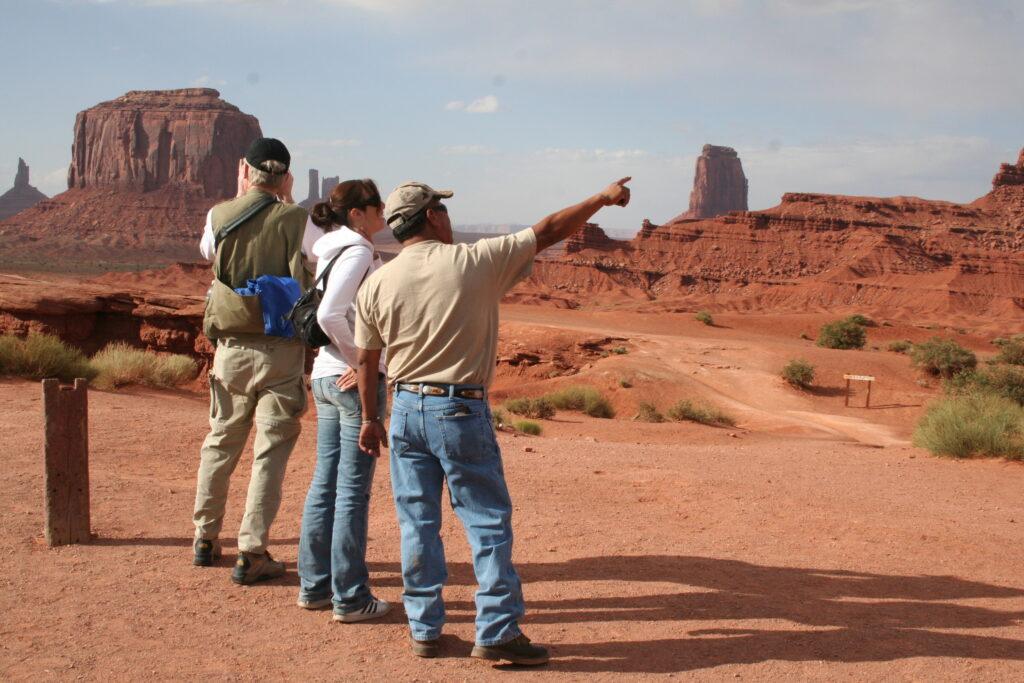 Utah UT Monument Valley with people Marita Ross