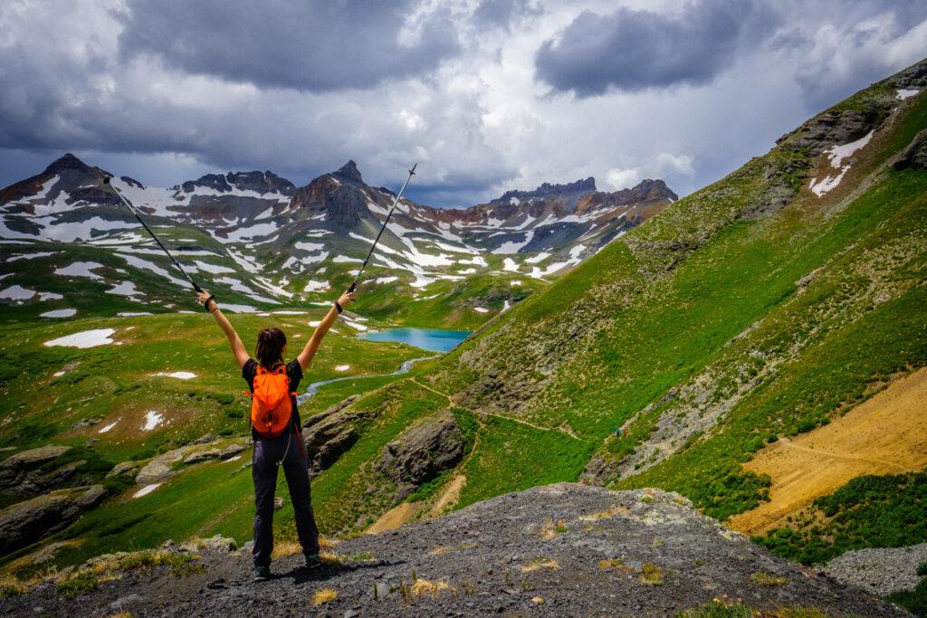 ice lakes hiking durango colorado summer recreation Brooke Henderson 1