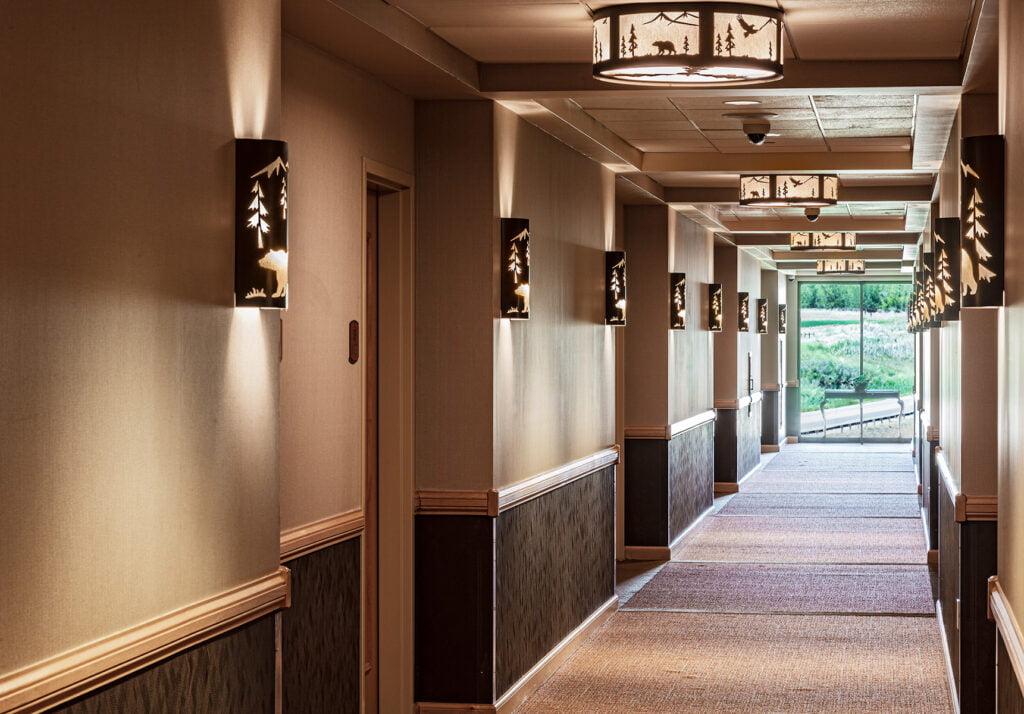 20200709Sky Ute Casino 5 Hallway