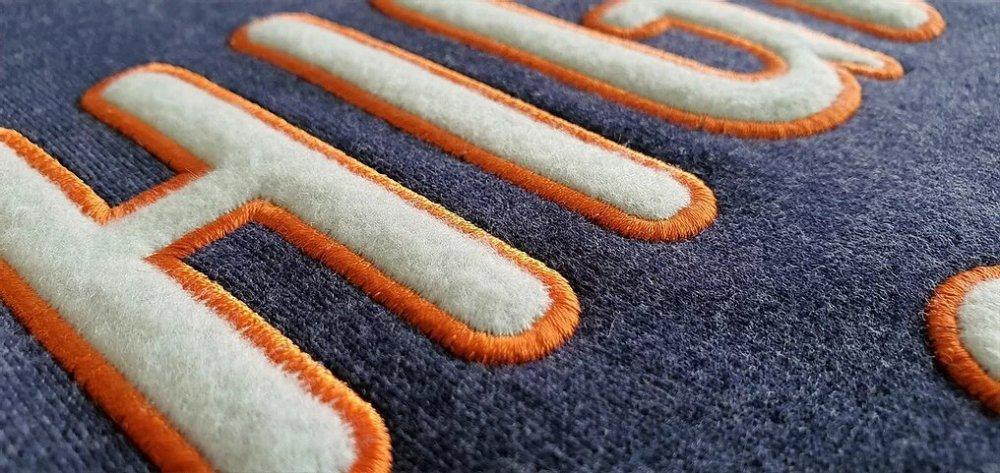 1 Layer Fleece  Applique