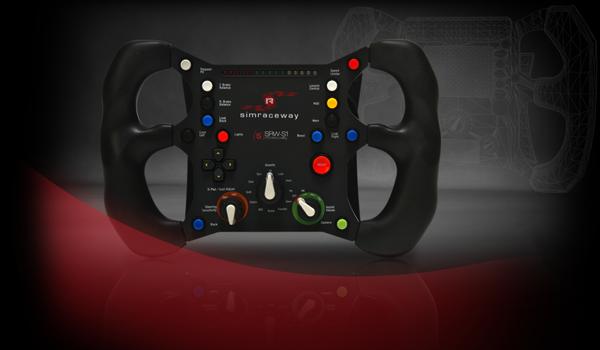 One amazing steering wheel