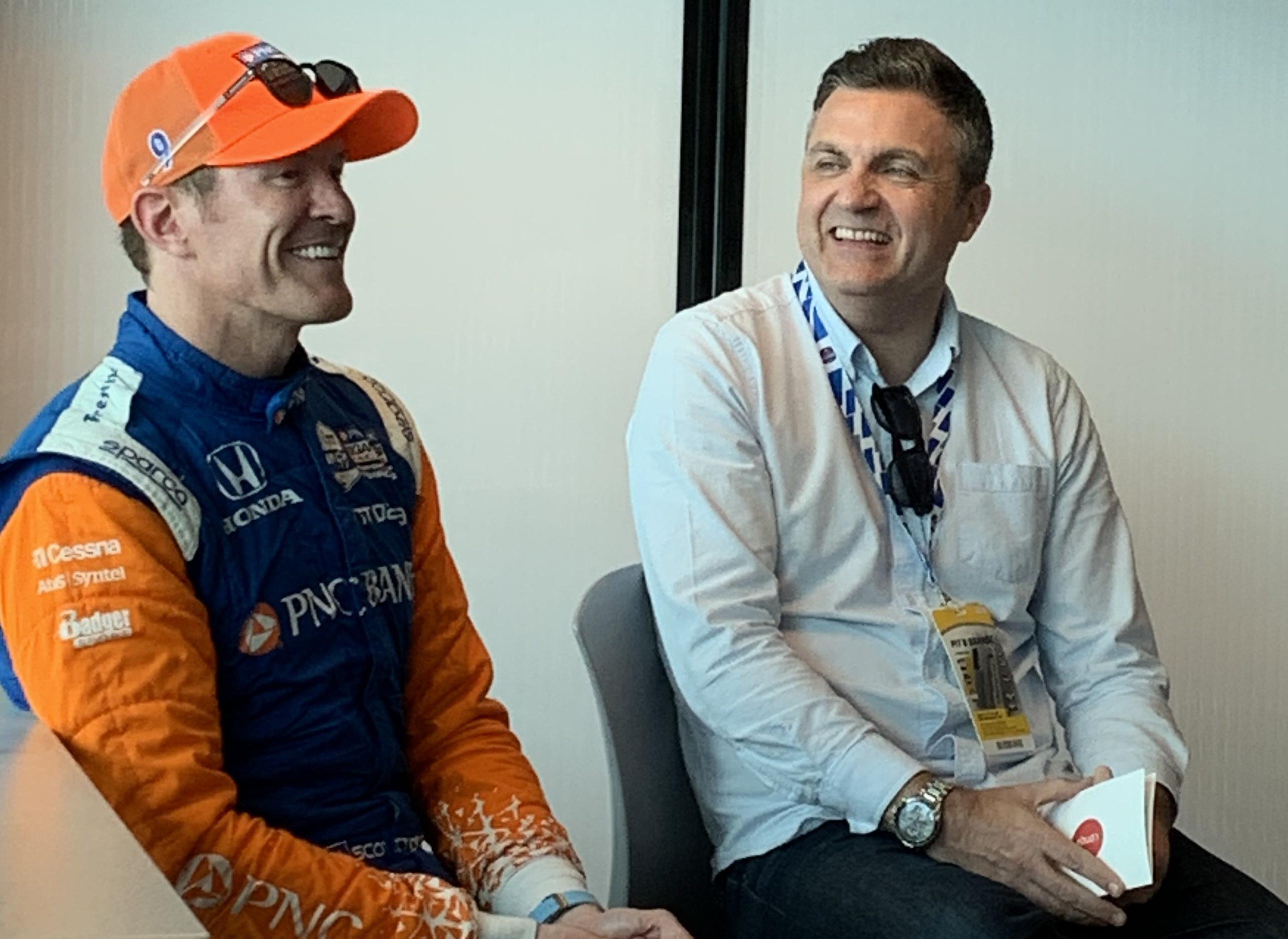 Talking with IndyCar great Scott Dixon