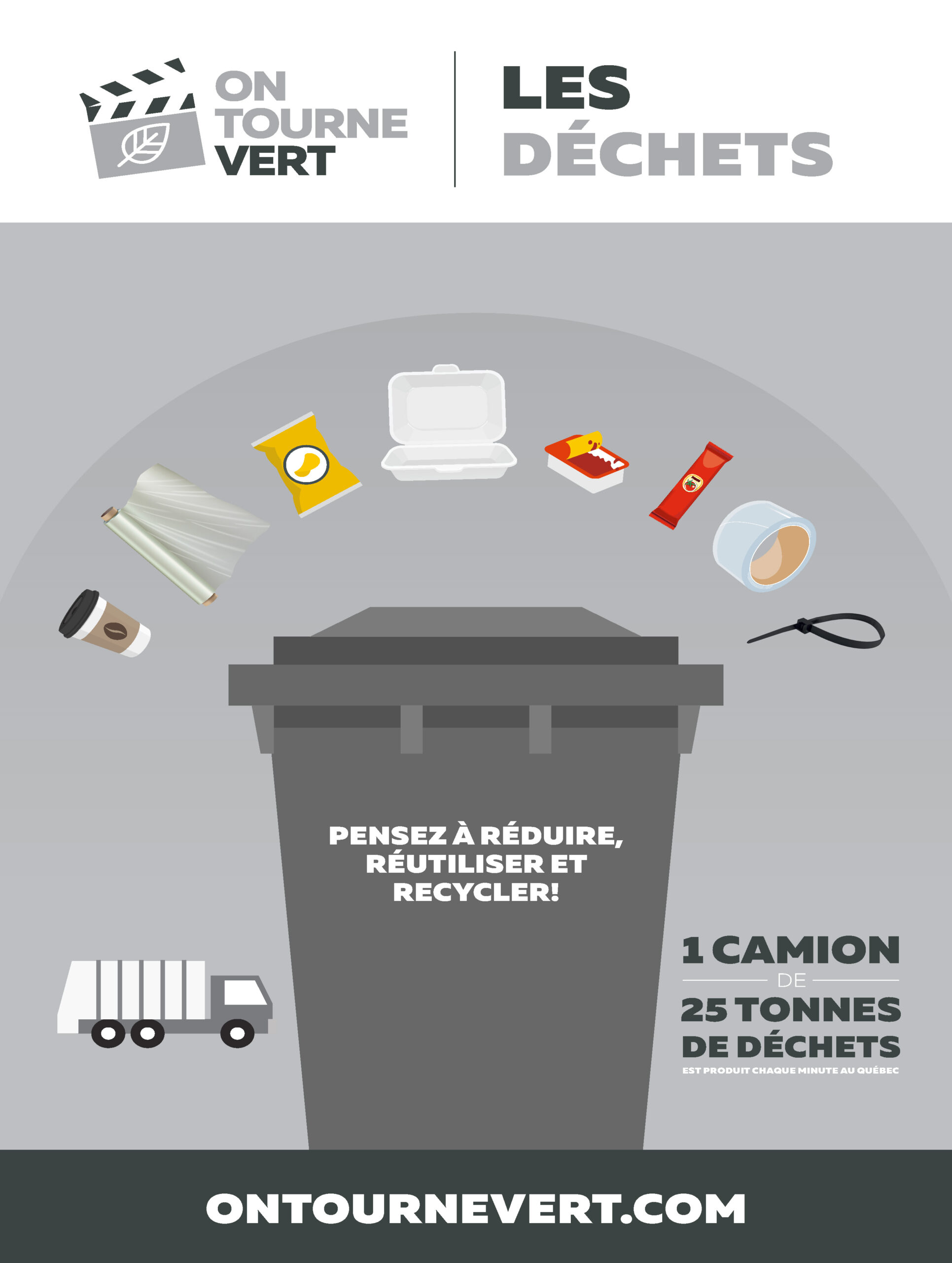 affiche déchets