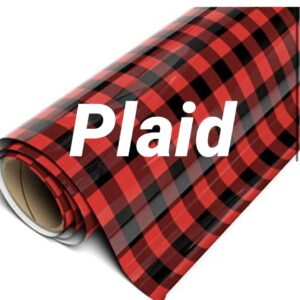 Plaid Heat Transfer Vinyl