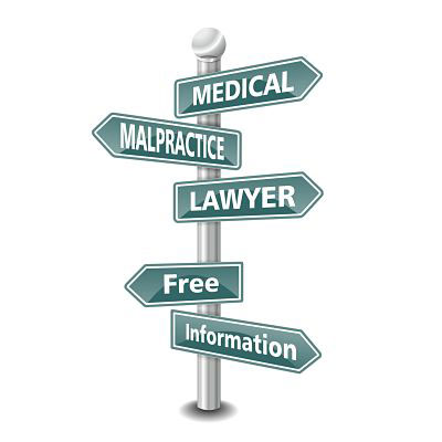 Medical Malpractice Sign