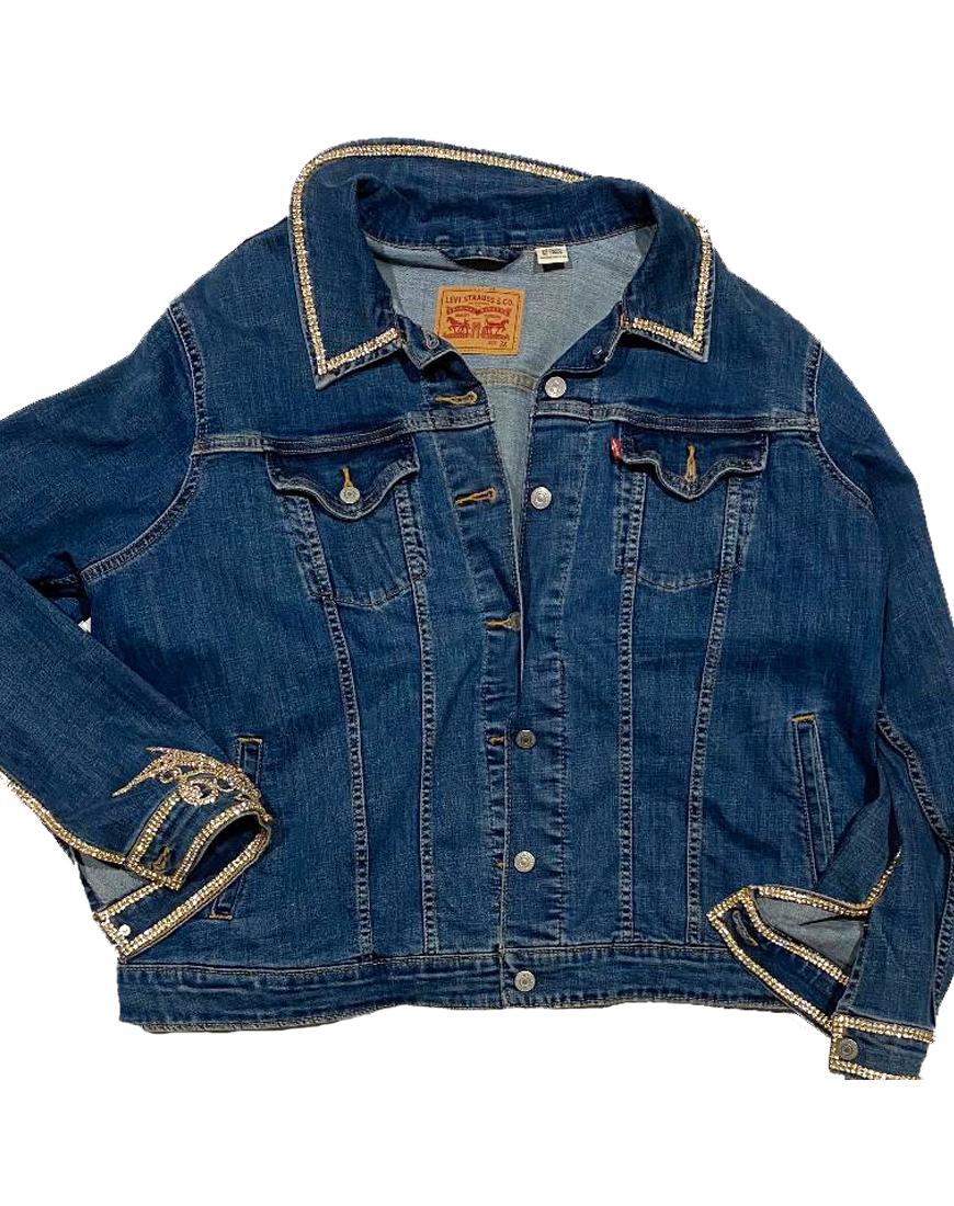Jacket Jean Front