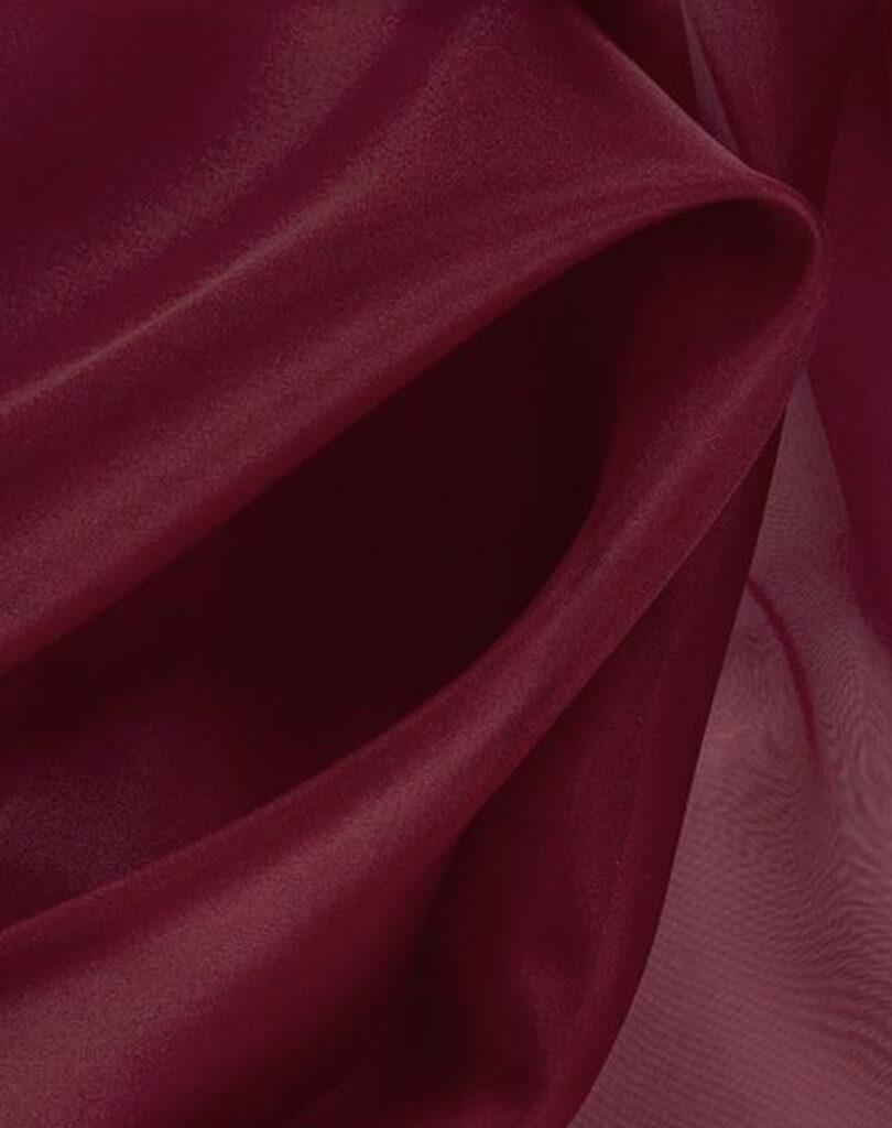 Glass-Veil-Bespoke-Gifts-Silk-Organza-Deep-Red