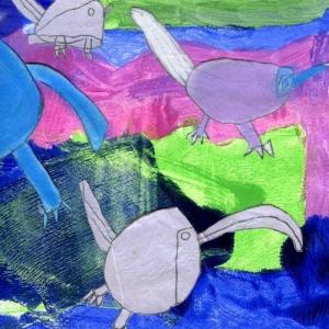 Michael Hudson: birds -  BOOK SELECTION