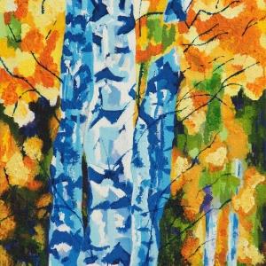 Toni-Ann Green, Leicester -  Autumn Birch