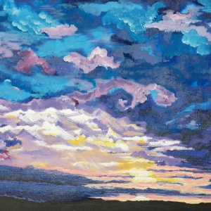 Toni-Ann Green, Leicester - Sunset at Sea
