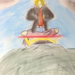 Meditation upon the mountain