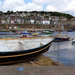 Mousehole in the summer
