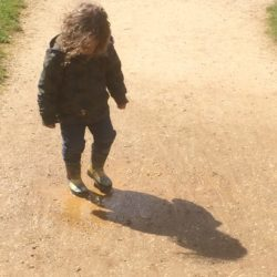 It's Me, my Shadow and the last Muddy Puddle
