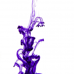 Purple Ink Drop