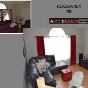 AMC Design aménagement salon