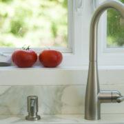 AMC DESIGN robinet avec pompe à savon intégrée