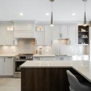 AMC Design Rénovation cuisine péninsule Montréal