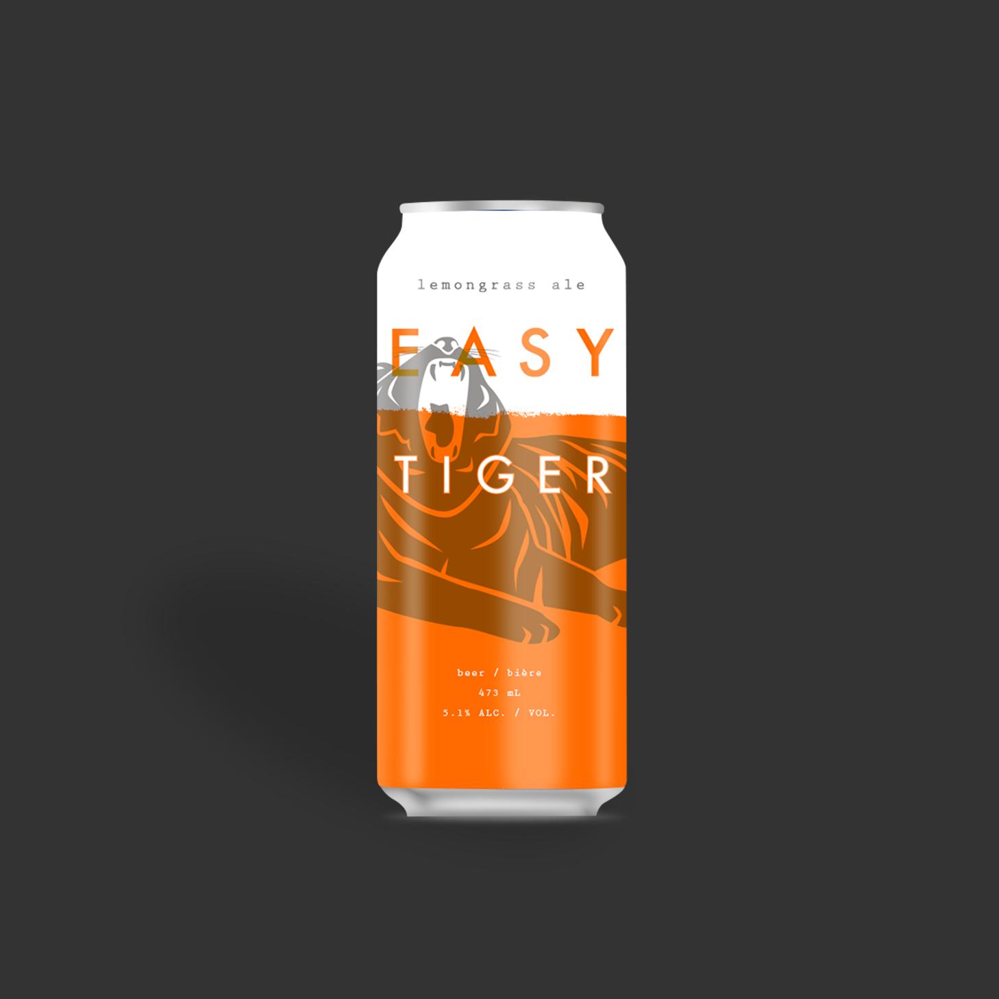 Easy Tiger Lemongrass Ale
