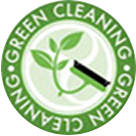 green cleaning logo for Carpet Keepers in Leesburg VA