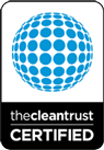 the clean trust certification holders at Carpet Keepers Eco-friendly carpet cleaners in Leesburg VA