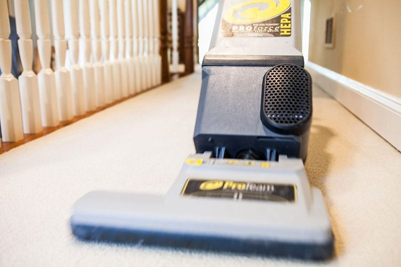 Regular carpet cleaning by Carpet Keepers