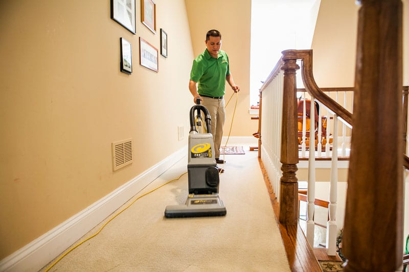 Vacuum Carpets Regularly