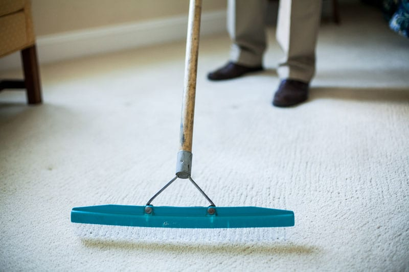 carpet care and cleaning by Carpet Keepers in Leesburg VA