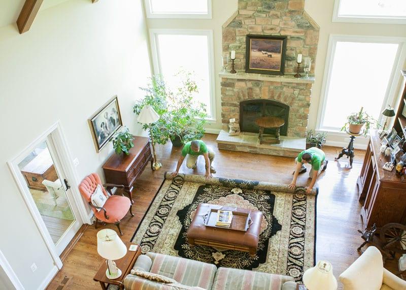 image of area rug cleaning leesburg va carpet keepers