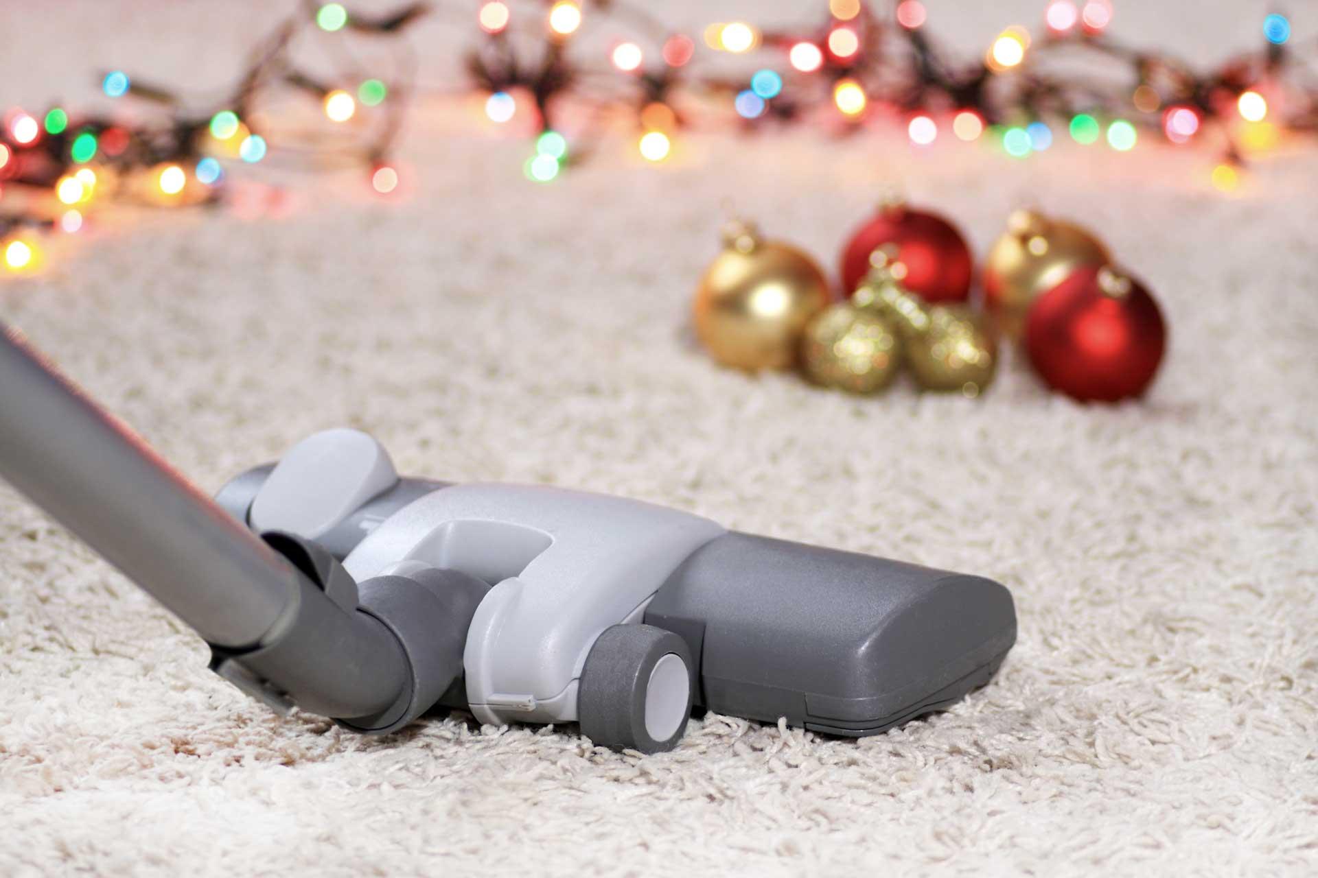 removing christmas tree needles carpet Leesburg VA Carpet Cleaning Company
