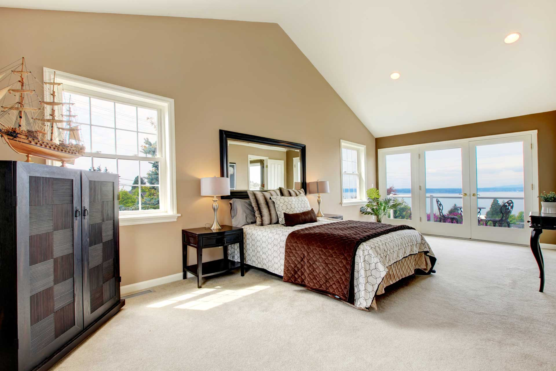 clean carpets in home for healthy air and comfort